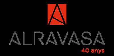 Logo Alravasa 40 anys